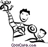 Rescue and Safety Vector Clip Art picture