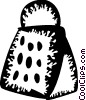 Vector Clipart picture  of a Cheese Grater