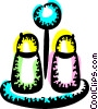 Salt and Pepper Vector Clipart illustration