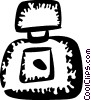 Vector Clipart picture  of a Perfume and Cologne