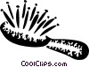 Vector Clip Art image  of a Brushes