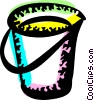 Mops and Pails Vector Clip Art image