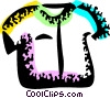 Vector Clipart graphic  of a Shirts