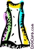 Vector Clipart picture  of a Dresses