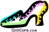 Vector Clipart graphic  of a Dress Shoes