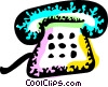 Home Phones Vector Clip Art picture