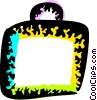 Vector Clip Art picture  of a Luggage