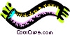 Vector Clip Art picture  of a Scarves