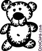 Teddy Bears Vector Clipart graphic