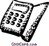 Calculators Vector Clipart graphic