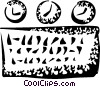 Vector Clipart picture  of a Meters