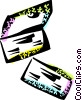 Vector Clip Art image  of a Checks