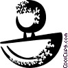 Vector Clipart graphic  of a Rubber Stamps