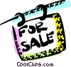 Vector Clip Art picture  of a Real Estate