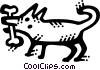 Misc Dogs Vector Clipart graphic