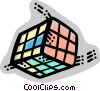 Puzzles Vector Clipart illustration