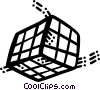 Vector Clip Art image  of a Puzzles