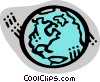 Vector Clipart graphic  of a Earth