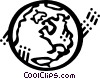 Earth Vector Clipart illustration