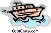 Vector Clipart picture  of a Yachts