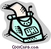 Vector Clip Art picture  of a Typewriters