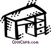 Vector Clipart image  of a Desktop
