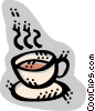 Teacups Vector Clip Art picture