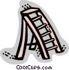 Vector Clipart image  of a Ladders