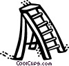 Ladders Vector Clip Art graphic