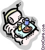 Beds Vector Clipart illustration