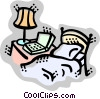 Beds Vector Clip Art picture