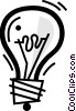 Light bulbs Vector Clip Art picture