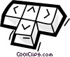 Keyboards Vector Clipart picture