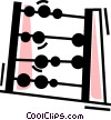 Vector Clipart picture  of an Abacus