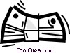 Vector Clipart picture  of a Dollars