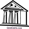 Banks Vector Clip Art graphic
