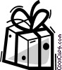 Birthday Presents Gifts Vector Clipart illustration