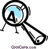 Magnifying Glasses Vector Clip Art picture