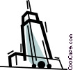 Vector Clip Art picture  of a Office Buildings