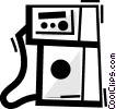 Vector Clip Art graphic  of a Petroleum and Gasoline