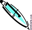 Ballpoint Pens Vector Clipart illustration