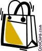 Shopping Bags Vector Clipart illustration