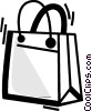 Vector Clipart picture  of a Shopping Bags