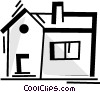 Vector Clipart picture  of a Urban Housing
