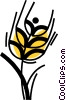 Vector Clipart graphic  of a Unprocessed Grain