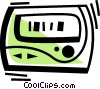 Pagers Vector Clipart illustration