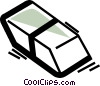 Vector Clip Art graphic  of a Erasers