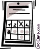 Vector Clipart image  of a Calendars
