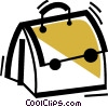 Vector Clip Art image  of a Doctor's Bag