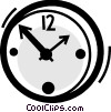 Vector Clip Art picture  of a Wall Clocks